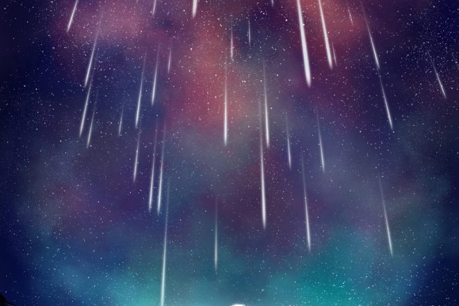 Rain of Wishes (c) Esther Wagner